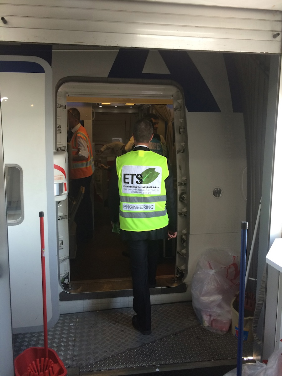 aircraft interior cleanin ets
